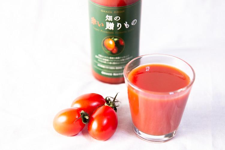 アルギット農業でトマトジュースの味が変わる?